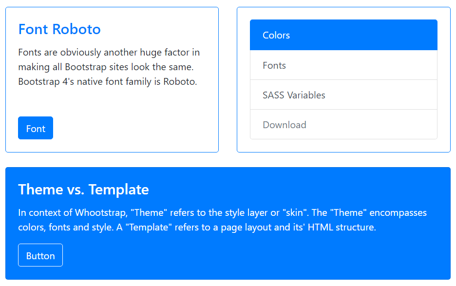How to use Bootstrap CSS
