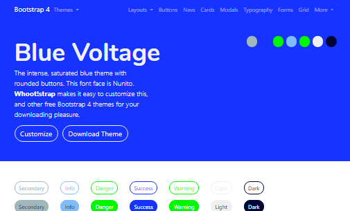 Screenshot Blue Voltage