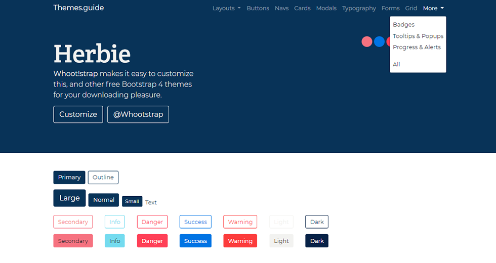 Image for Bootstrap Themes Guide
