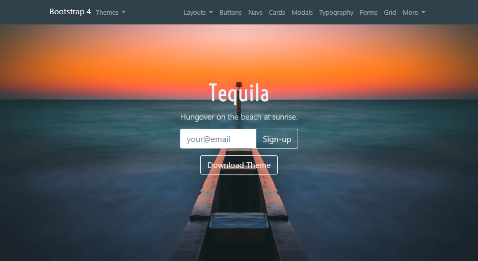 Screenshot Tequila